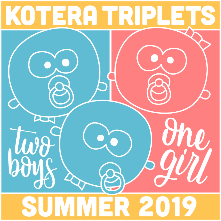 Triplets - Two Boys One Girl